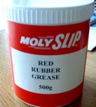Смазка для резины Molyslip Red Rubber Grease